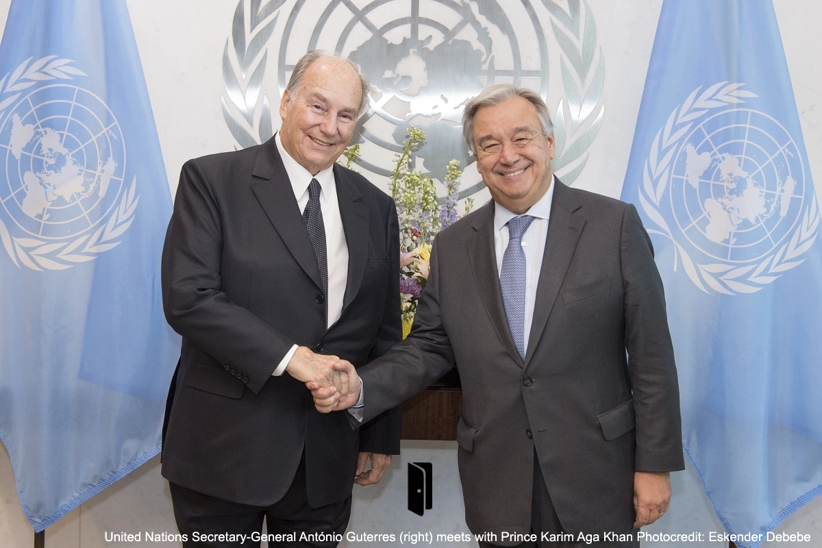 The United Nations: Aga Khan's Throne (Part I: Money Laundering)