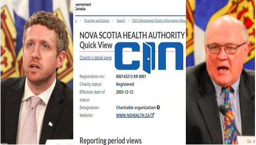 Nova Scotia Public Health Is A Non Governmental Charitable Organization, Used To Lock You Down
