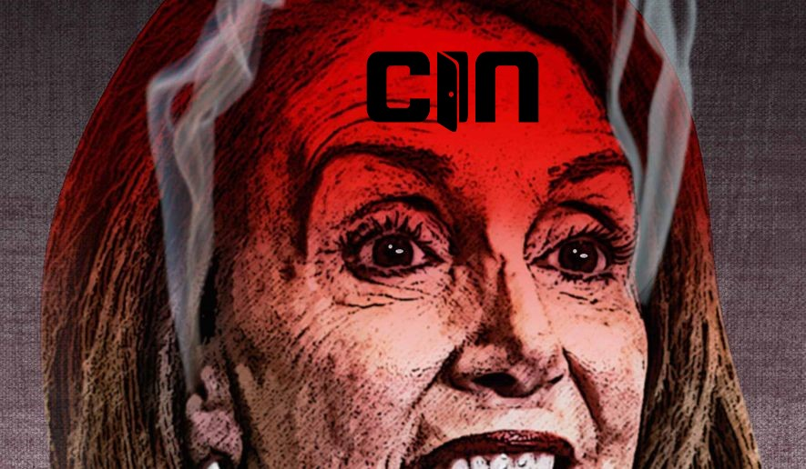 """Unhinged Chicom Agent and Enemy of Freedom Nancy Pelosi Screeches Globalist Plan, """"Get Vaccinated or We'll Force You""""."""