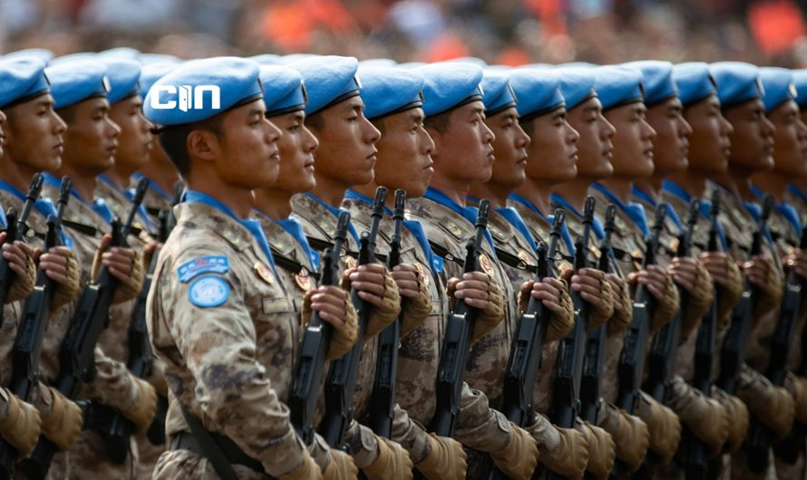 UN Police Training Center is in… China!